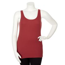 George Plus Women's Ribbed Tank Red 3X