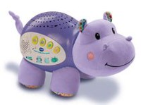 VTech Lil' Critters Soothing Starlight Hippo Toy - French