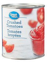 Tomates broyées de Great Value