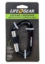 Lifegear locking carabiner