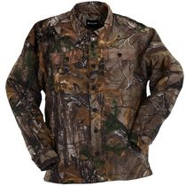 Realtree Men's Flannel Shirt Jacket L/G