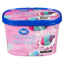 Great Value Cotton Candy Ice Cream