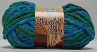 Easy Knit Chenille's LUV Yarn Turqoise