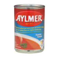 Aylmer Tomato soup less sodium