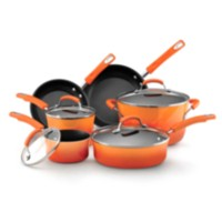 Rachael Ray Non-stick Cookware Set Orange