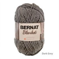 Bernat Blanket Yarn Dark Grey