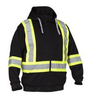 Force field Hi-Visibility Safety Detachable Hoodie XL