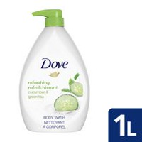 Dove Go Fresh Cucumber & Green Tea scent Body Wash 1L