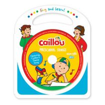 Caillou - Preschool Songs (CD + Livre)