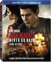 Jack Reacher: Never Go Back (Blu-ray + DVD + HD Numérique) (Bilingue)