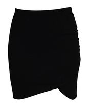 g:21 Ladies Wrap Skirt Black Extra-small