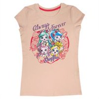 Shoppies Girls' Short Sleeve Tee Shirt M