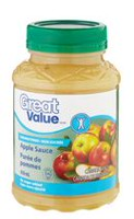 Great Value Unsweetened Apple Sauce