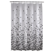 Matrix PEVA shower curtain