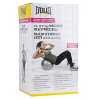 Ballon d'exercices lesté d'Everlast, 5 lb (2,27 kg)