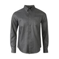 George Men's Woven Casual Shirt Black M