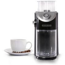 Black + Decker Burr Mill Coffee Grinder in Silver and Black