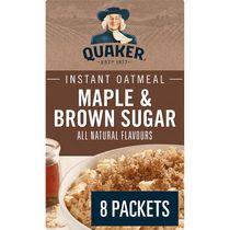 Quaker Maple & Brown Sugar Instant Oatmeal