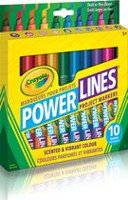 Crayola Marqueur pour projets Power Lines