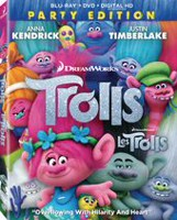 Trolls (Blu-ray + DVD + Digital HD)(Bilingual)
