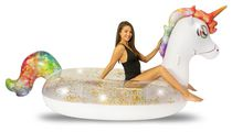 Glitter Unicorn Gigantic Beach & Pool Raft
