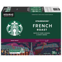 STARBUCKS® Torréfaction francąise K-Cup® capsules 24 unités