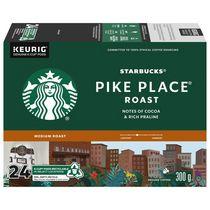 Starbucks® Torréfaction Pike Place® Café Moulu Torréfaction Moyenne K-Cup® capsules 24 unités