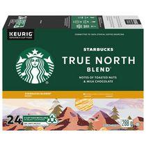 Starbucks® Mélange Nordique® Café Moulu Torréfaction Starbucks Blonde® K-Cup® Capsules 24 unités