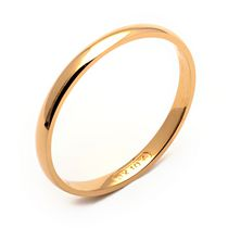 Rex Rings Ladies' 10 KT Yellow Gold Wedding Band 6.5