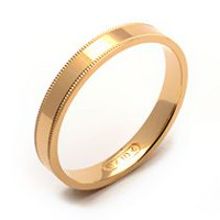 Rex Rings Ladies' 10 Kt Yellow Gold Wedding Band 7