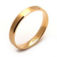 Rex Rings Ladies' 10 Kt Yellow Gold Wedding Band 8