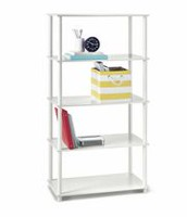 Mainstays 5 Shelf Storage Shelving Unit White
