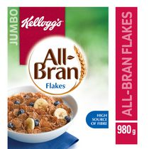 Kellogg's All-Bran Flakes Cereal, 980g
