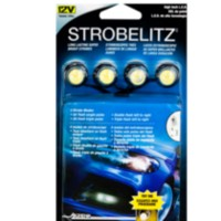 Alpena Strob Litz White LED Lights