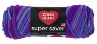 Fil à tricoter Supersaver de Red Heart Grape Fizz