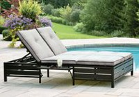 hometrends Venice Double Lounger