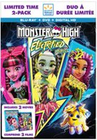 Monster High™: Electrified (Blu-ray + DVD + Digital HD) (Limited Time 2-Pack - Walmart Exclusive) (Bilingual)