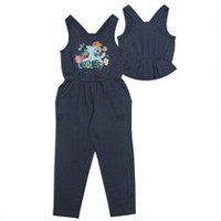 My Little Pony Girls' Racer Back Romper S