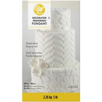 Wilton Ready-to-Use Rolled Fondant White 5lbs