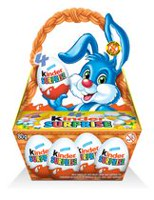 Kinder Surprise Easter Milk Chocolate with Milky Lining Surprise Toy