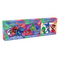 Disney's PJ Masks - 3-Pack Bundle - Two 48-Piece puzzles and Jumbo Playing Card Set