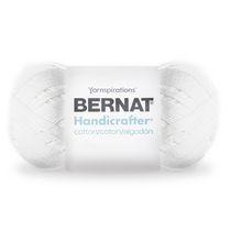 Bernat Handicrafter Cotton Yarn (400 g/14 oz), White