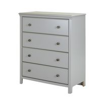 South Shore Cotton Candy 4-Drawer Chest White