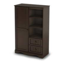 South Shore Savannah Collection Armoire Espresso