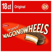 Biscuits originaux Wagon Wheels de Dare