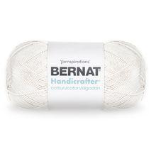 BERNAT HANDICRAFTER COTTON YARN (400G/14 OZ), OFF WHITE