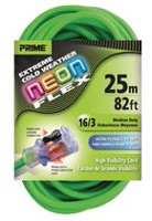 Prime Wire & Cable Neon Flex Extension Cord