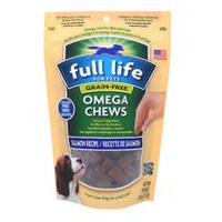 Full Life for Pets Omega Chews-Grain Free Salmon Recipe for Dogs