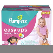 Pampers Easy Ups Girls' Training Pants Super Pack 4T-5T