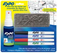 Expo Ultra Fine Dry Erase Coloured Markers